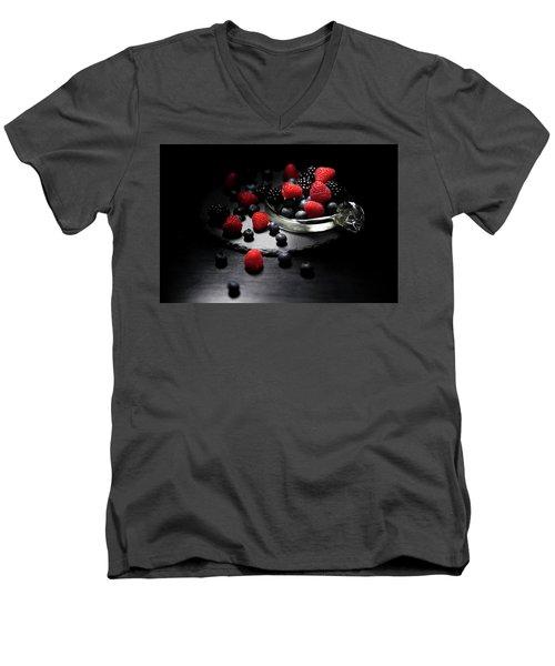Berries Men's V-Neck T-Shirt