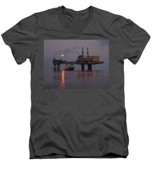 Beryl Alpha Men's V-Neck T-Shirt
