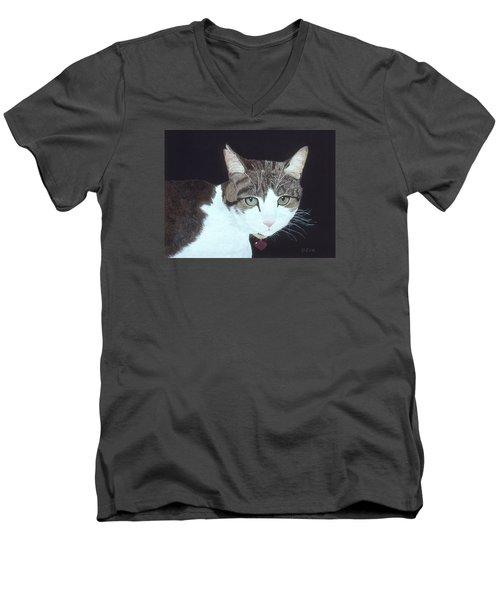 Best Cat Men's V-Neck T-Shirt