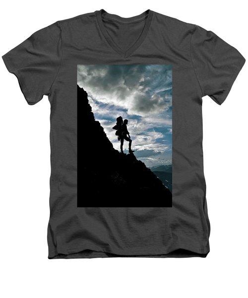 Best Foot Forward Men's V-Neck T-Shirt