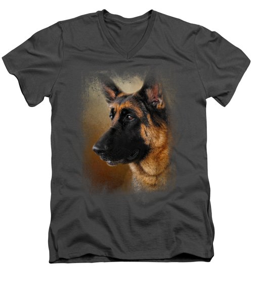 Best In Show - German Shepherd Men's V-Neck T-Shirt