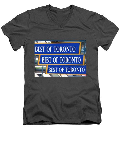 Best Of  Toronto On Canada Men's V-Neck T-Shirt