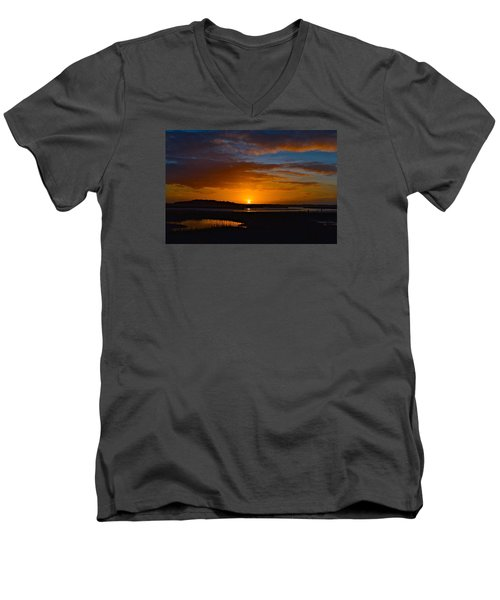 Best One This Year Men's V-Neck T-Shirt by Laura Ragland