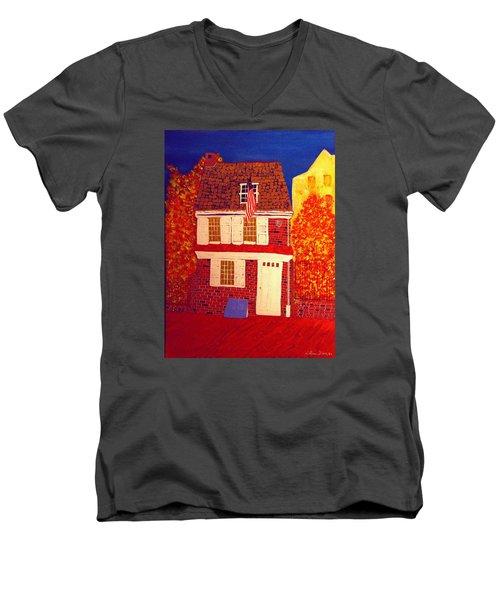 Betsy Ross's House Men's V-Neck T-Shirt