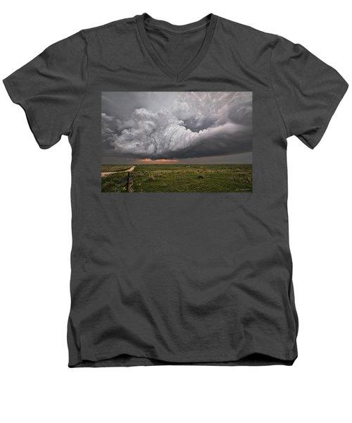 Better Late Than Never Men's V-Neck T-Shirt