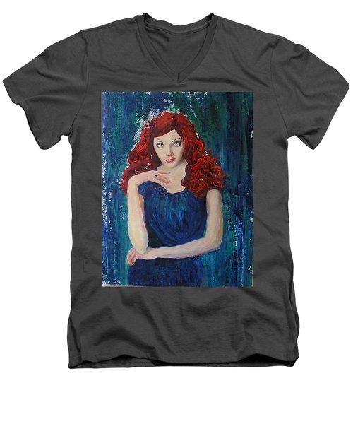 Betty Men's V-Neck T-Shirt