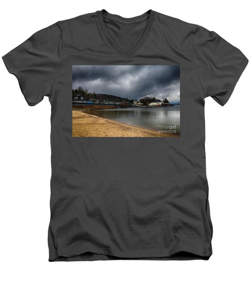 Between Raindrops Men's V-Neck T-Shirt