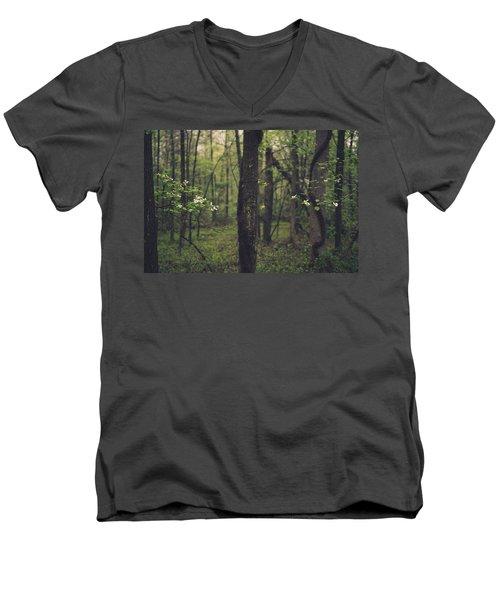 Between The Dogwoods Men's V-Neck T-Shirt