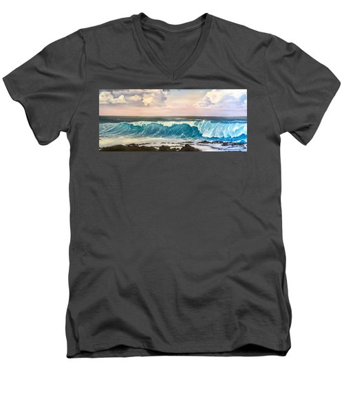 Between The Turtle And The Shark Men's V-Neck T-Shirt