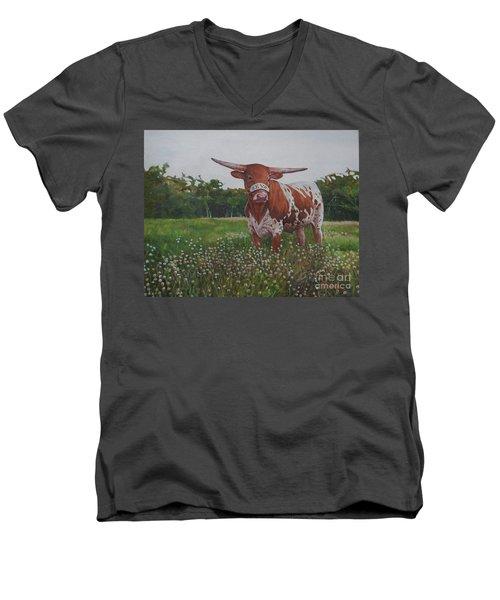 Bevo Men's V-Neck T-Shirt