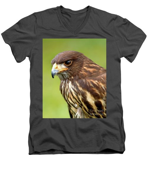 Beware The Predator Men's V-Neck T-Shirt by Stephen Melia