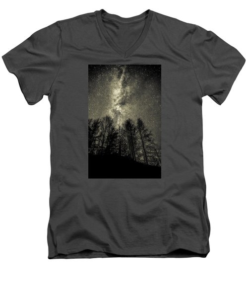 Beyond Eternity Men's V-Neck T-Shirt by Rose-Maries Pictures