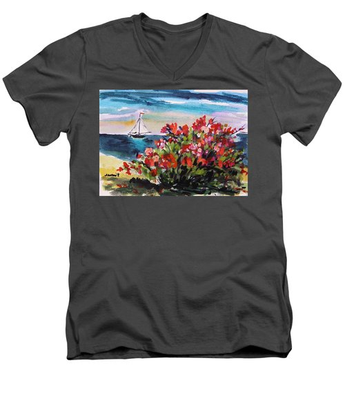 Beyond Sea Roses Men's V-Neck T-Shirt