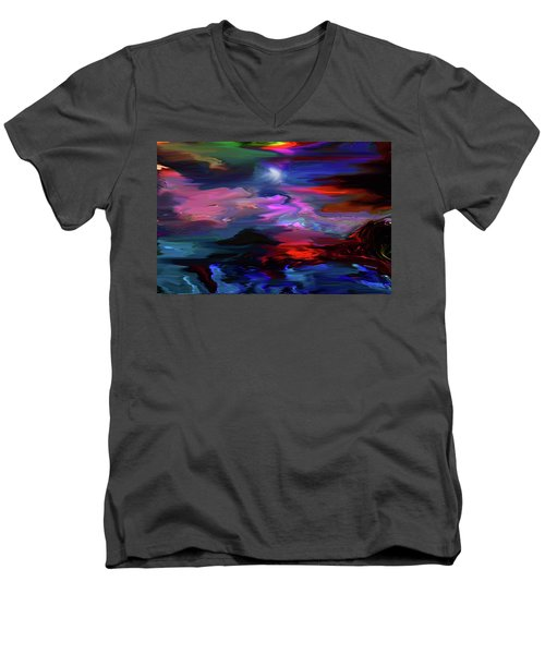 Beyond The Blue Horizon Men's V-Neck T-Shirt