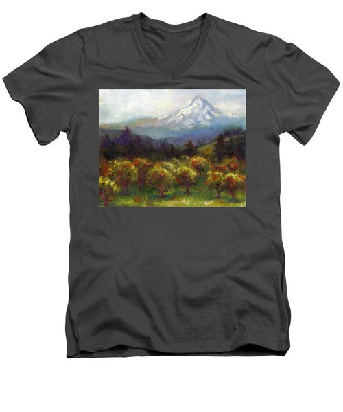 Beyond The Orchards Men's V-Neck T-Shirt