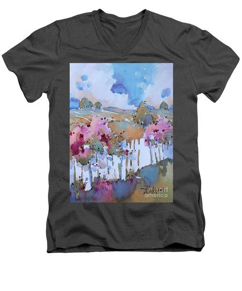 Beyond The Picket Fence Men's V-Neck T-Shirt