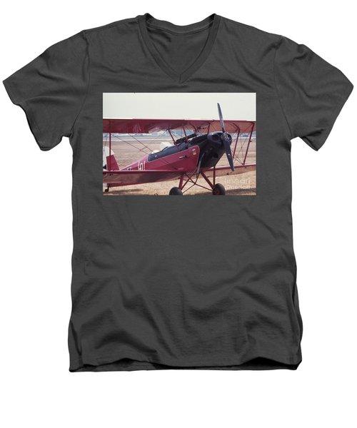 Bi-wing-5 Men's V-Neck T-Shirt