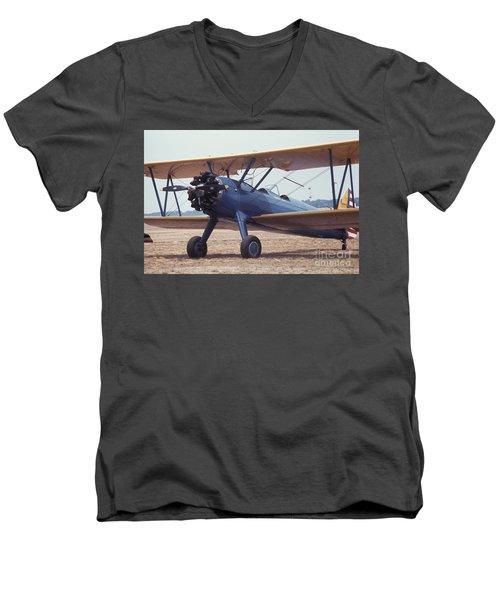 Bi-wing-8 Men's V-Neck T-Shirt