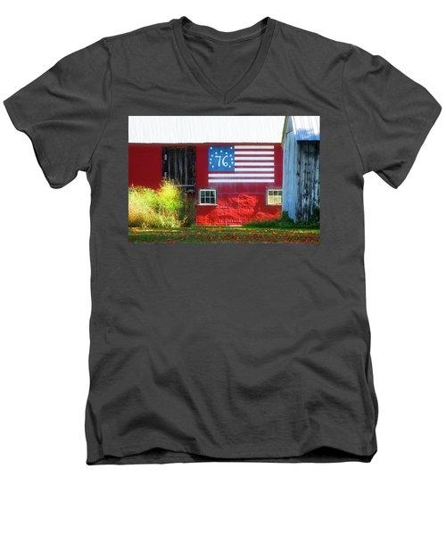 Bicentennial Men's V-Neck T-Shirt