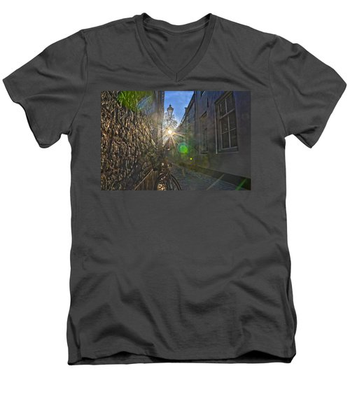 Bicycle Alley Men's V-Neck T-Shirt