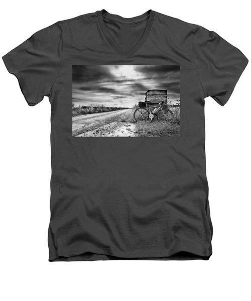 Bicycle Break Men's V-Neck T-Shirt