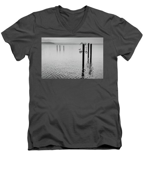 Bicycle Men's V-Neck T-Shirt