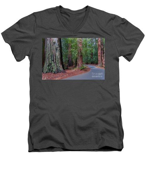 Big Basin Redwoods Men's V-Neck T-Shirt