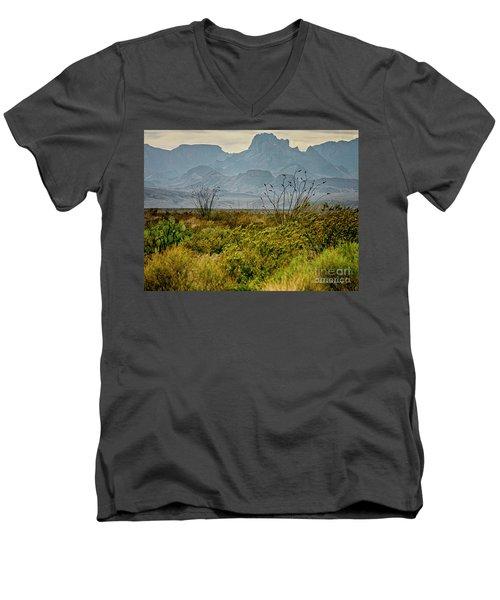 Big Bend Mountains Men's V-Neck T-Shirt