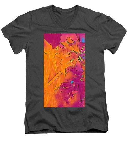 Big Boy Electric Men's V-Neck T-Shirt