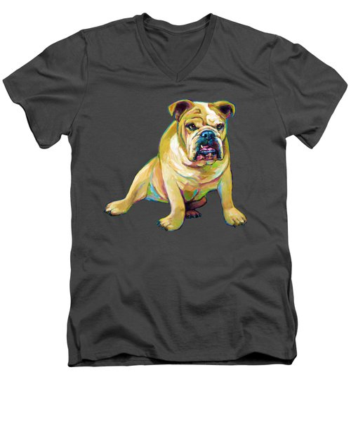Big Boy Men's V-Neck T-Shirt