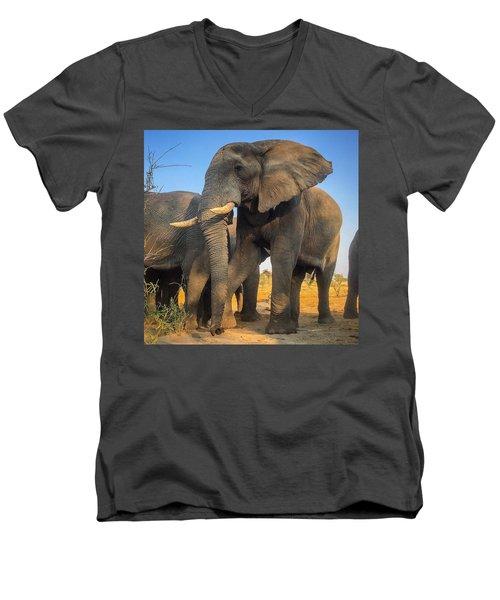 Big Guy Men's V-Neck T-Shirt
