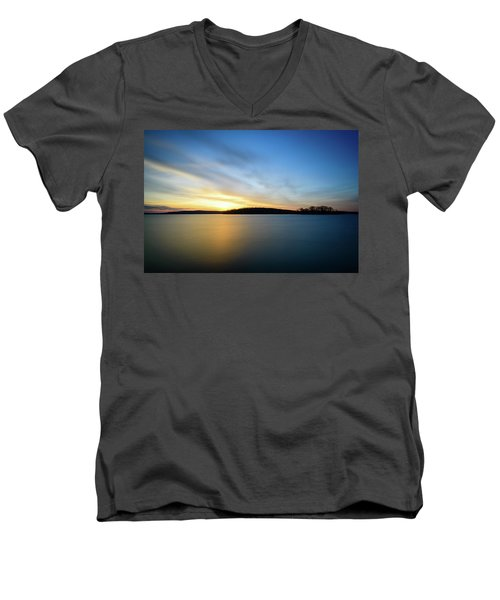 Big Island Men's V-Neck T-Shirt
