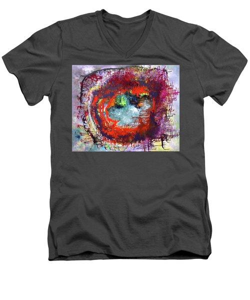 Big Optic Men's V-Neck T-Shirt