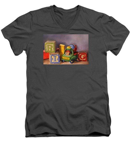 Big Rig Men's V-Neck T-Shirt