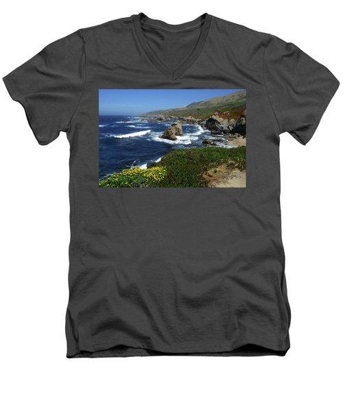 Big Sur 2 Men's V-Neck T-Shirt