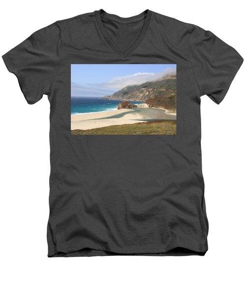 Big Sur Beach Men's V-Neck T-Shirt