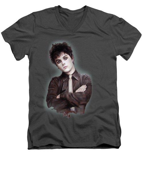 Billie Joe Armstrong Men's V-Neck T-Shirt
