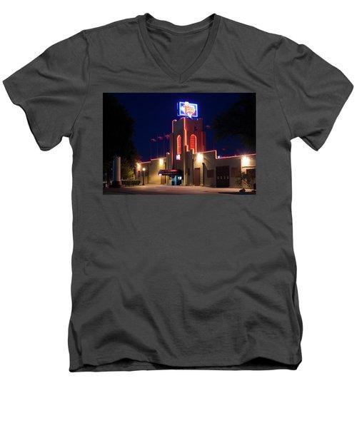 Billy Bob's Texas 33017 Men's V-Neck T-Shirt