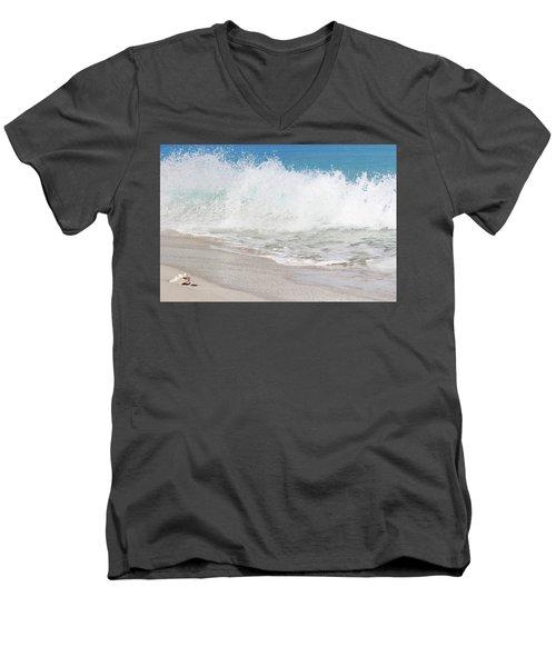 Bimini Wave Sequence 2 Men's V-Neck T-Shirt