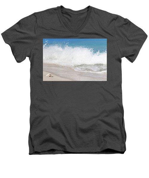 Bimini Wave Sequence 3 Men's V-Neck T-Shirt
