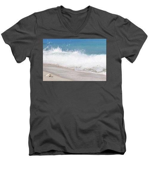 Bimini Wave Sequence 4 Men's V-Neck T-Shirt