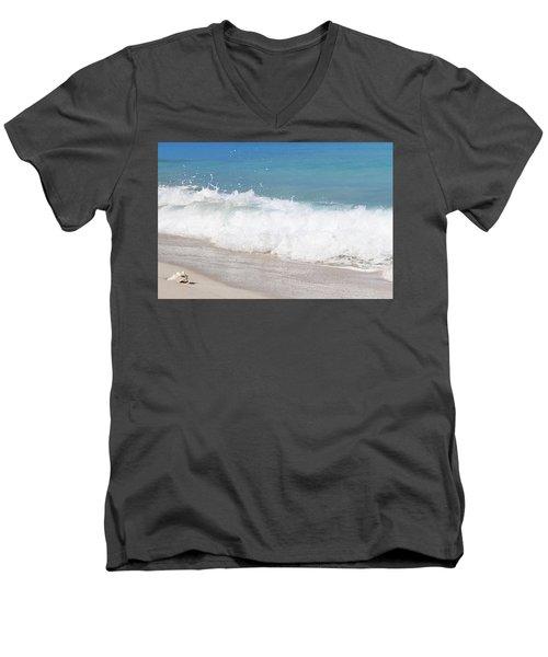 Bimini Wave Sequence 5 Men's V-Neck T-Shirt