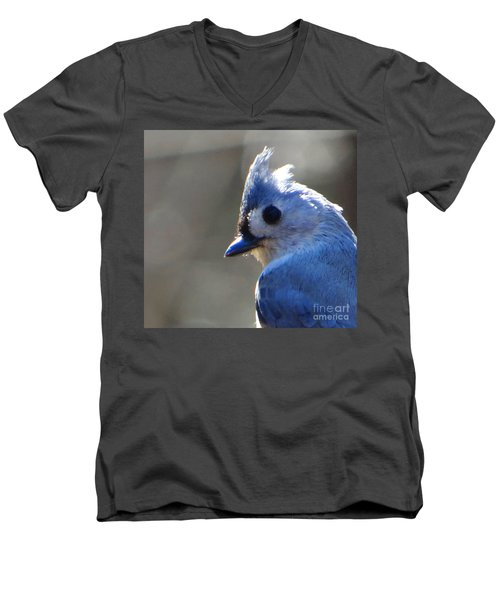 Men's V-Neck T-Shirt featuring the photograph Bird Photography Series Nbr 1 by Elizabeth Coats