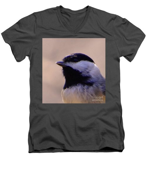 Men's V-Neck T-Shirt featuring the photograph Bird Photography Series Nmb 2 by Elizabeth Coats