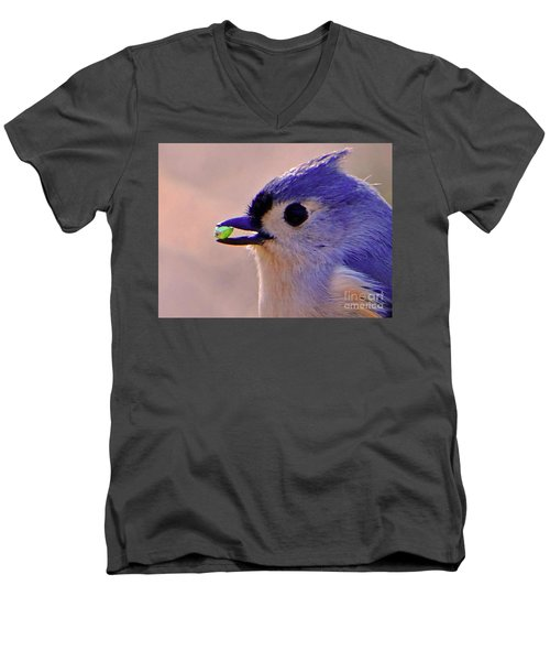 Men's V-Neck T-Shirt featuring the photograph Bird Photography Series Nmb 4 by Elizabeth Coats