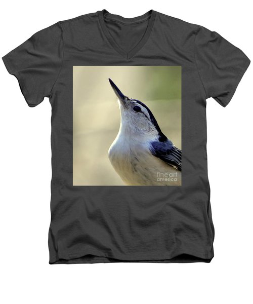 Men's V-Neck T-Shirt featuring the photograph Bird Photography Series Nmb 6 by Elizabeth Coats