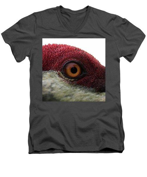 Men's V-Neck T-Shirt featuring the photograph Birds Eye by Brian Jones