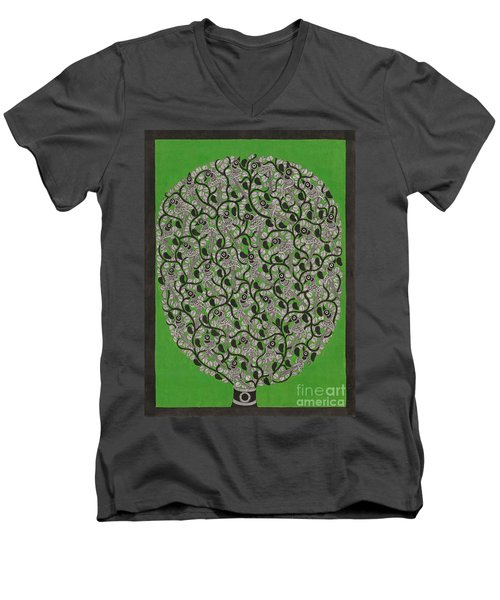 Birds Men's V-Neck T-Shirt