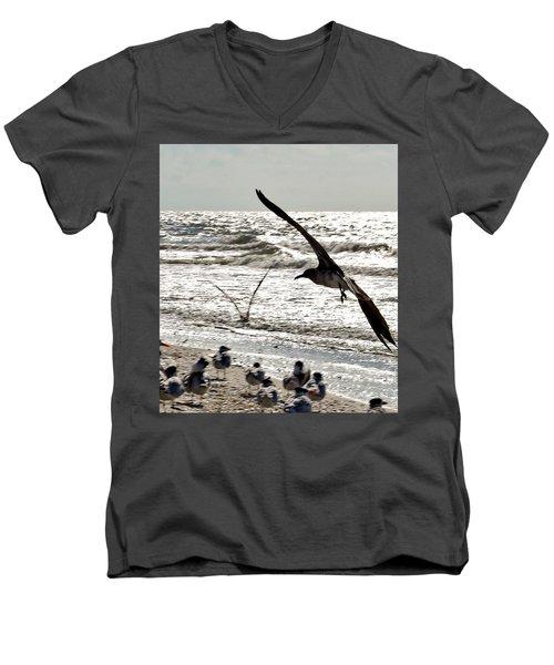 Birds World Men's V-Neck T-Shirt