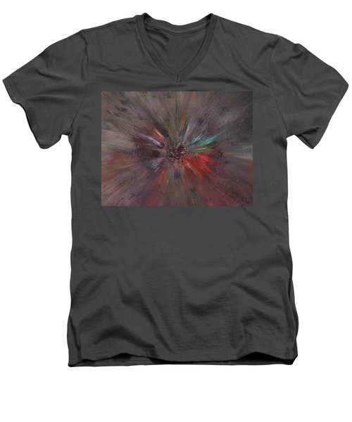 Birth Of A Soul Men's V-Neck T-Shirt